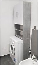 Meuble lave-linge étagère de salle de bain