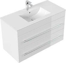Meuble salle de bain Casa Infinity 1000 blanc