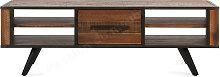 Meuble tv 150 vintage metal et bois acacia, Gamme