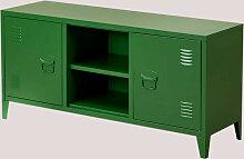 Meuble TV avec étagère en métal Pohpli SKLUM