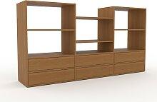 Meuble TV - Chêne, contemporain, meuble hifi,