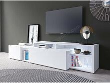 Meuble tv design blanc, Gamme aspen