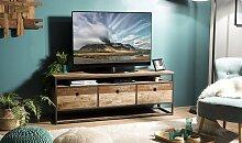 Meuble TV en bois recyclé - Thekku
