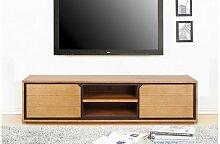 Meuble TV en teck massif 200 cm - Dynamic