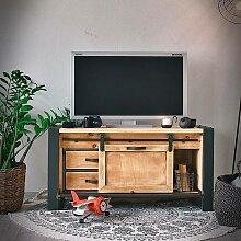 Meuble TV industriel FACTORY 120