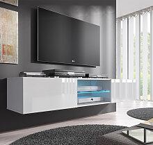 Meuble TV modèle Tibi (160 cm) blanc