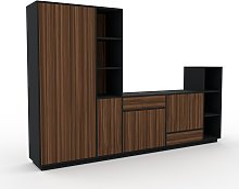 Meuble TV - Noyer, design, meuble hifi,