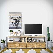 Meuble TV STEEL WOOD 180