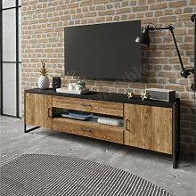 Meuble tv style industriel, Gamme factory 154 cm