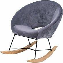 MEUBLER DESIGN Fauteuil À Bascule Design Lisa -