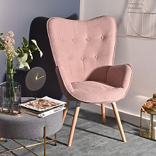 MEUBLES COSY Fauteuil Salon - Style Scandinave -