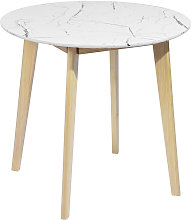 MEUBLES COSY Table de salle à manger ronde et