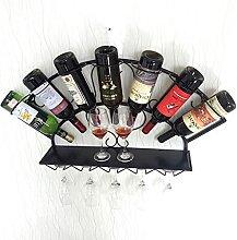 Meubles de bar à la maison - Montage mural Wine