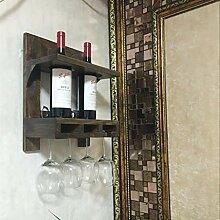 Meubles de bar à la maison - Rétro mur Porte-vin