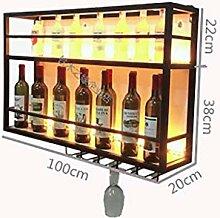 Meubles de bar à la maison - Wine Bar Rack avec