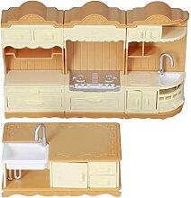 Meubles de maison de poupée, accessoires et