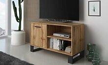 Meubles style industriel : Meuble TV 100 cm Loft