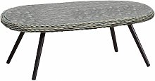 Meubletmoi - Table basse de jardin avec plateau en