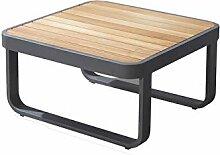 Meubletmoi Table Basse de Jardin en Aluminium et