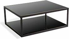 Meubletmoi - Table basse de jardin en aluminium