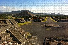 Mexique pyramide du soleil San Juan Teotihuacan