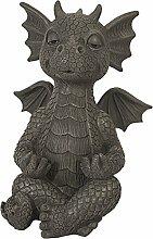 MFF Dragon de jardin Yoga méditation, figurine
