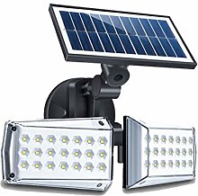 MG REAL Solaire À Deux Têtes 42LED Outdoor Wall