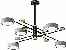 MHBGX Lustre Moderne Sputnik, Éclairage En Métal