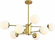 MHBGX Lustre Sputnik Moderne, Lustre, Porte-Lampe