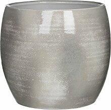 Mica Decorations 1002873 Lester Pot Ronde Gris Cl