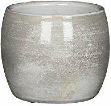 MICA Decorations 1018996 Pot, H.Grau, 14