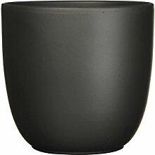 Mica Decorations 144281 Tusca Pot Ronde Noir Mat -