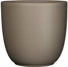 Mica Decorations 144300 Tusca Pot Ronde Taupe Mat