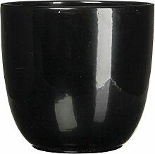 Mica Decorations 144790 Tusca Pot Ronde Noir -