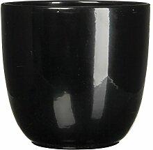 Mica Decorations 144791 Tusca Pot Ronde Noir -