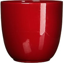 Mica Decorations 144811 Tusca Pot Ronde Rouge F -