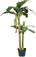 MICA Decorations Plante Artificielle Banane,