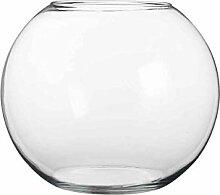 Mica Decorations Vase boule en verre Babet rond