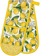 Michel Design Works Gant de cuisine double Citron