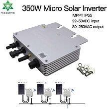 Micro-onduleur solaire Ip65 à onde sinusoïdale