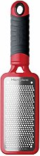Microplane 44102 Râpe, 18/8 Stainless Steel, Red,