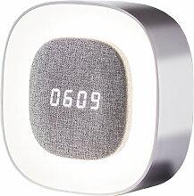 Midea - Chevet alarme veilleuse belle alarme