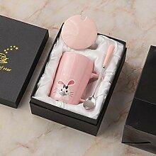 Mignon créatif tasse en céramique tasse à thé
