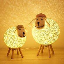 Mignon D'agneau Lampe USB LED Veilleuses Petit