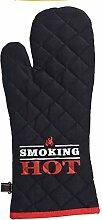 MIK Funshopping Gant de four pour barbecue Smoking