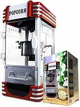 mikamax - Machine à pop-corn rétro - Deluxe -