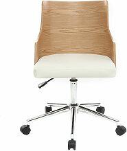 Miliboo - Chaise de bureau design MAYOL - Bois