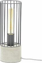 Miliboo - Lampe à poser industrielle en métal