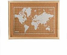 Milimetrado – Carte du Monde Tableau en