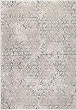 Miller - Tapis vintage gris